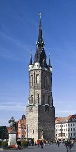 Roter Turm в Галле снова открыт